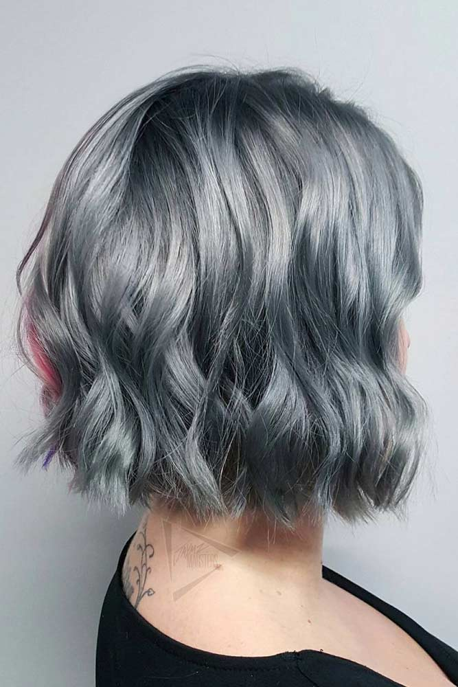 Cute Short Grey Hairstyles