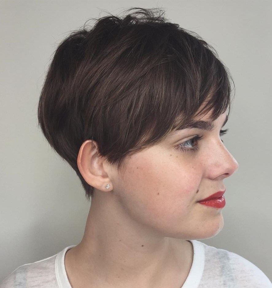 Cute and Quirky Layered Pixie