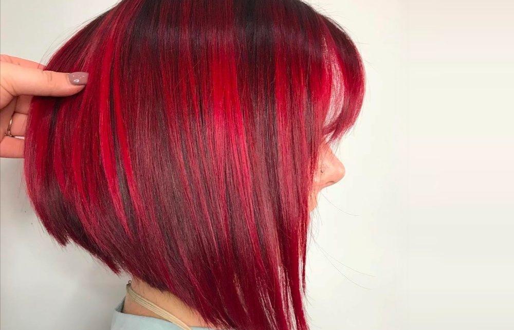 Daring Short Red Hair Color