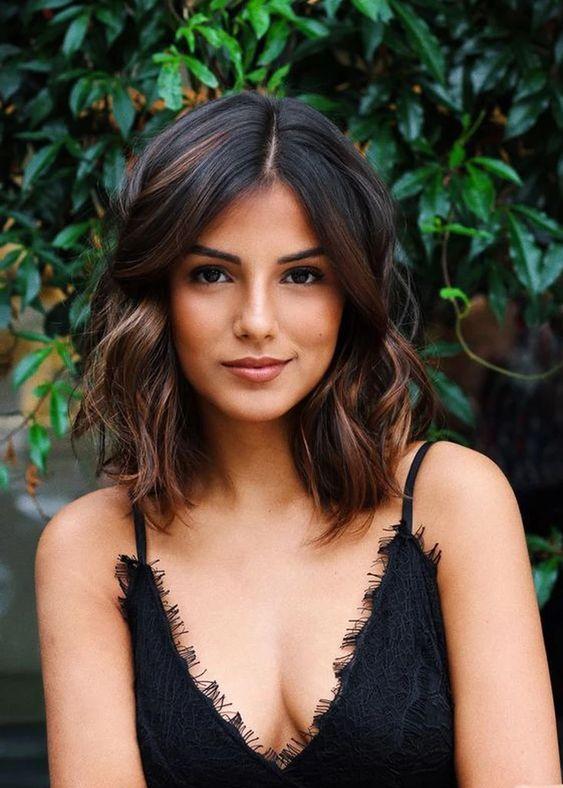 Dark Brown Hairstyle