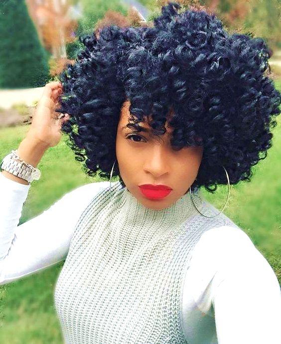 Easy Short Natural Curls 1