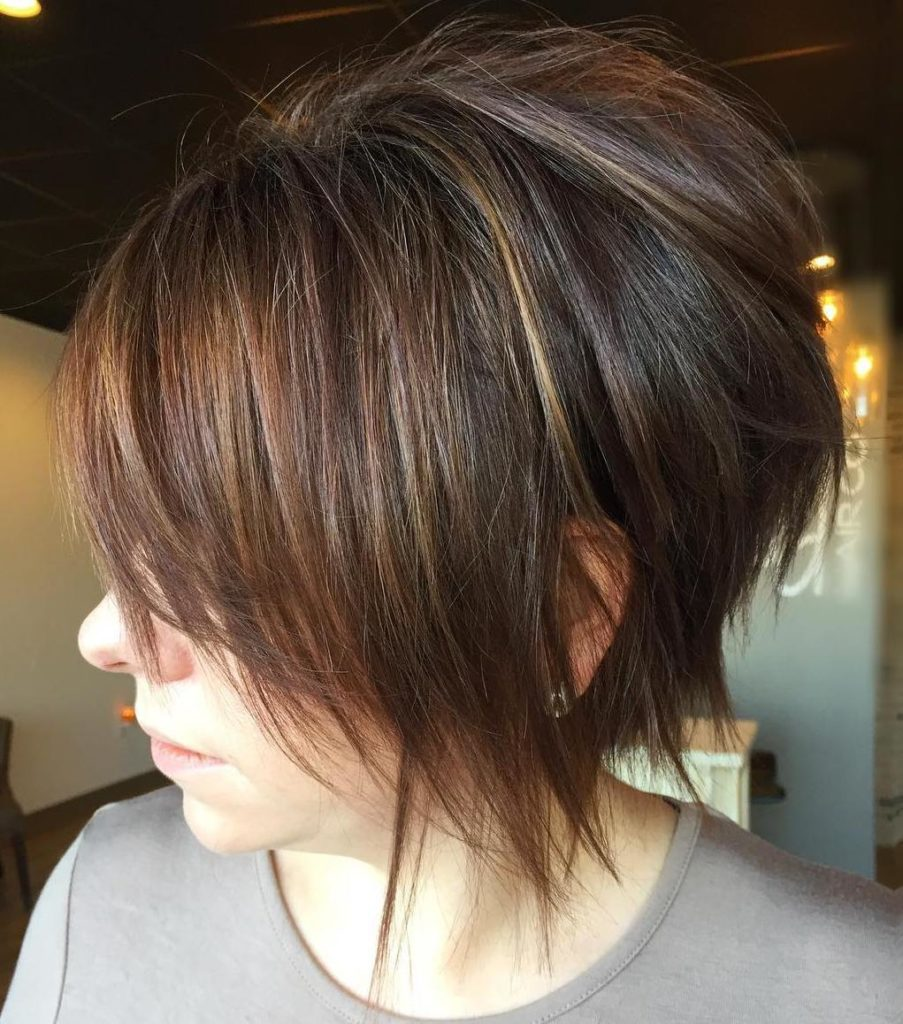 Feathered Long Pixie