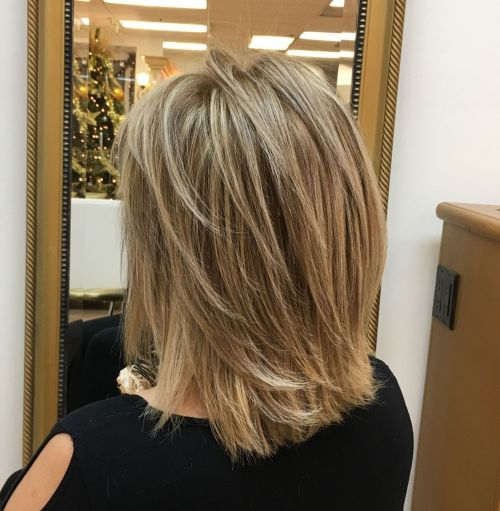 Feathered Mid Length Style