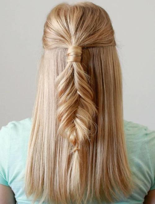 Golden Blonde Fishtail
