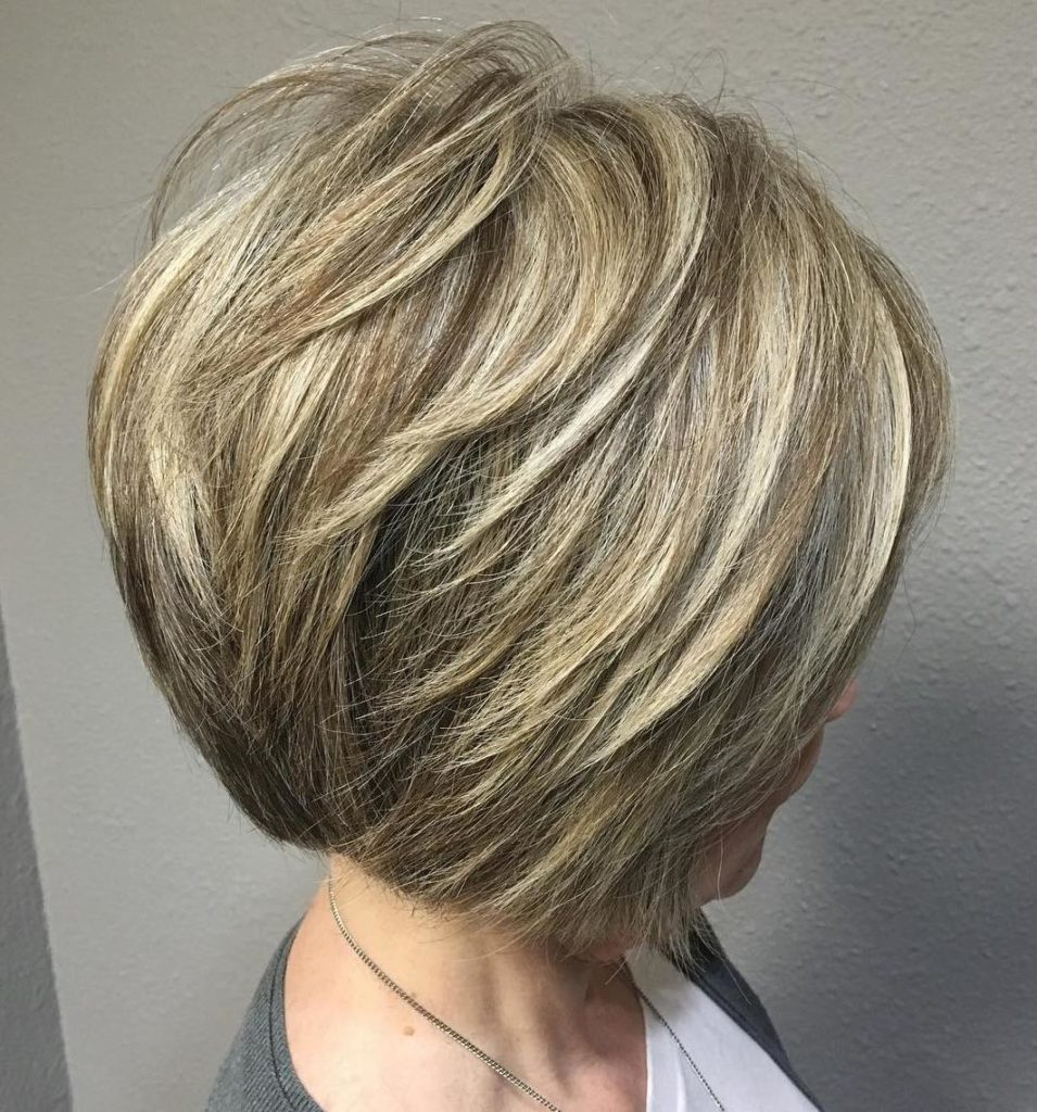 Graduated Bob for Thick Hair