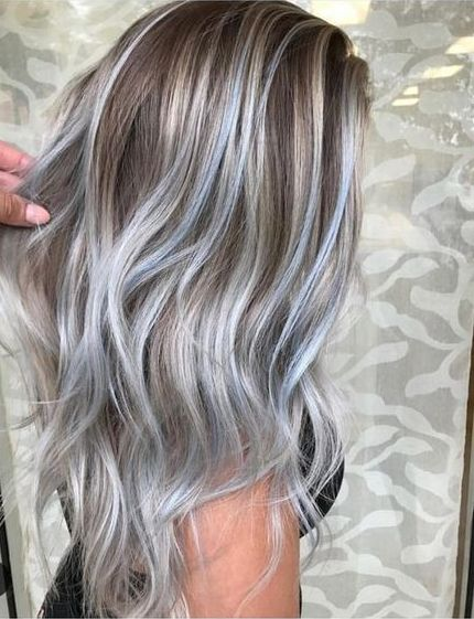 Grey hair blonde