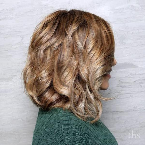Hairstyles with Caramel Highlights