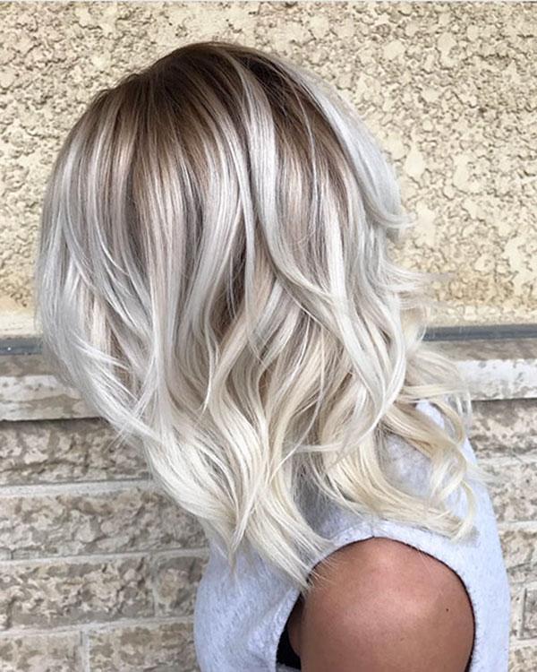 Light Blonde Short Hairstyle