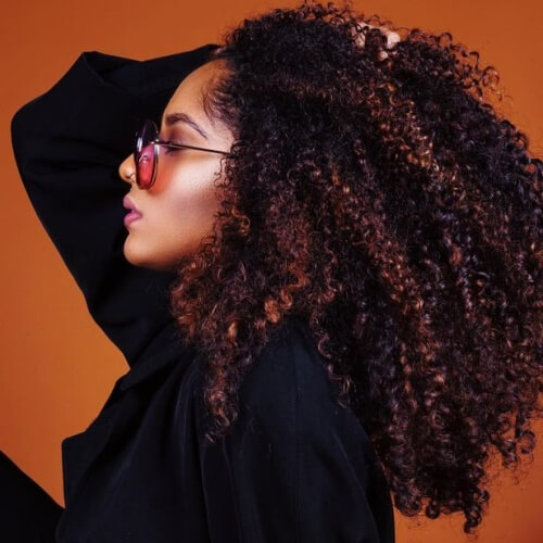 Long Curly Hairstyles for Natural Hair