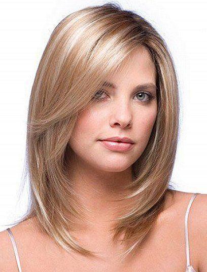 Long Layers on Medium Hair
