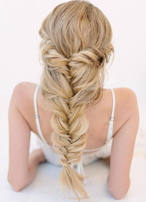 Long Relaxed Fishtail