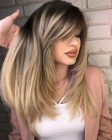 Long Thick Cut with Face Framing Layers