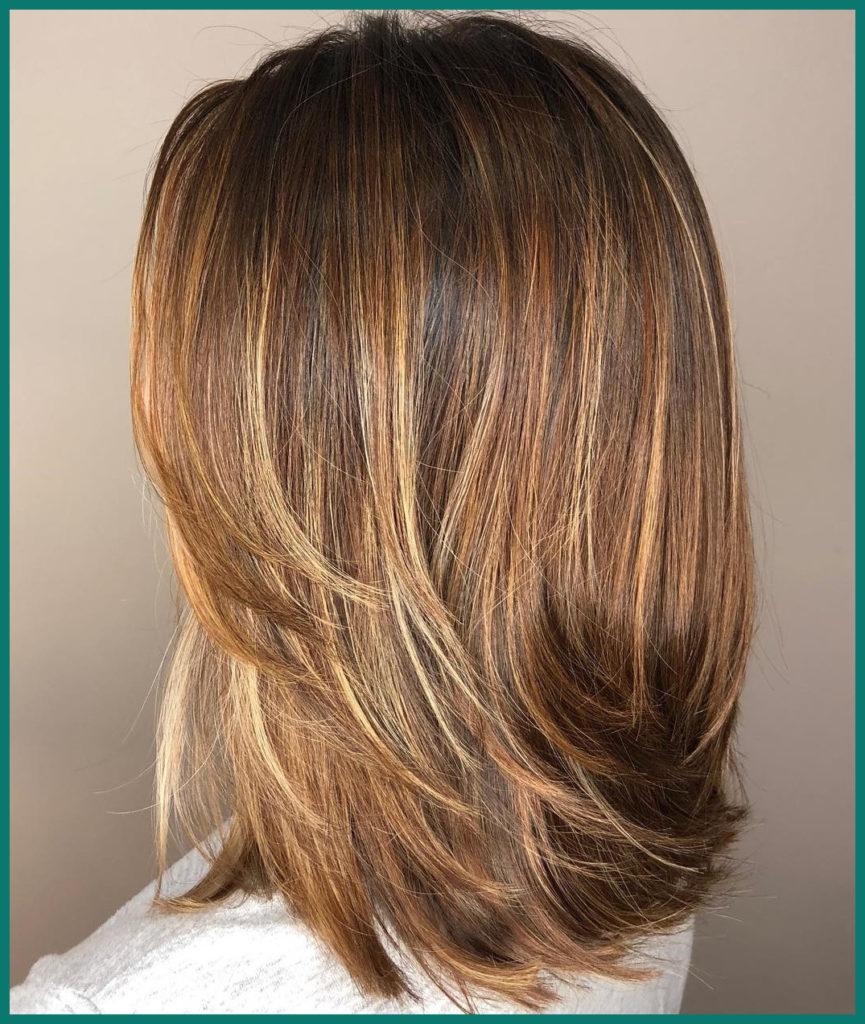 Medium Layered HaircuT 1