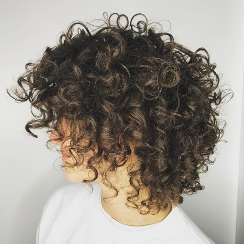 Medium Natural Hairstyle with Brown Balayage