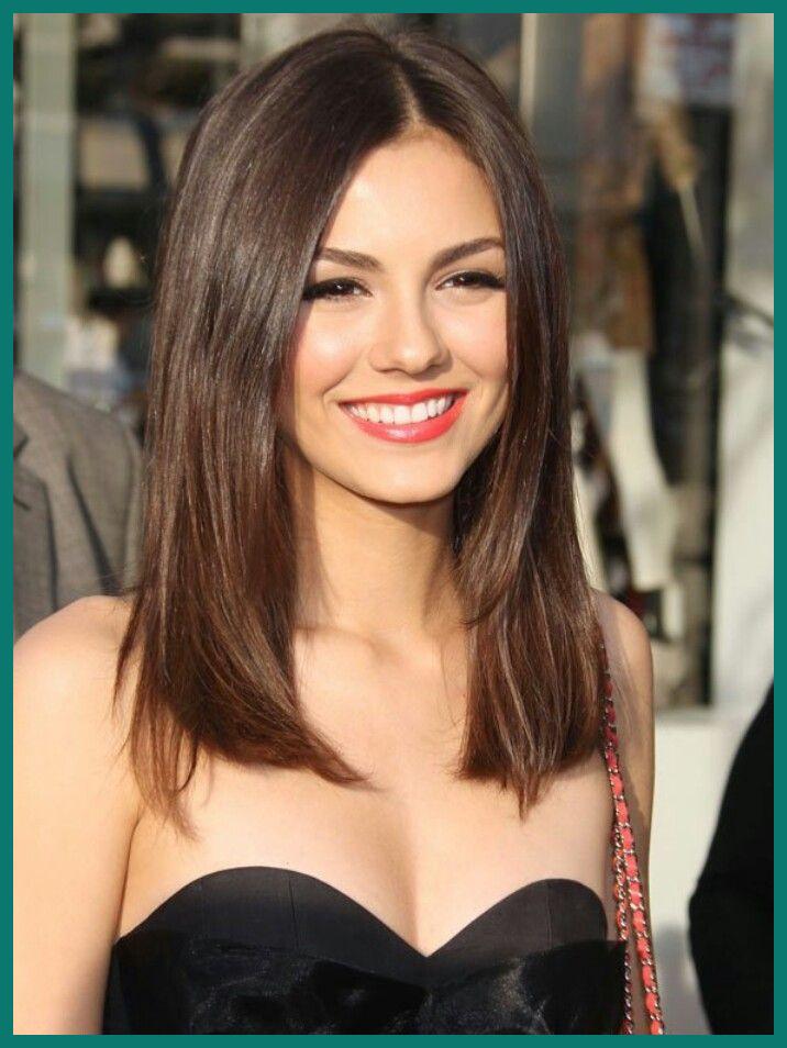 Medium One Length Hairstyles