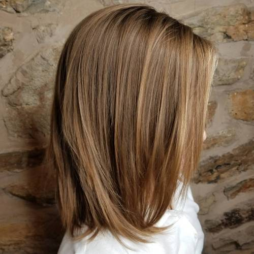 Medium to Long Cut with Light Layers