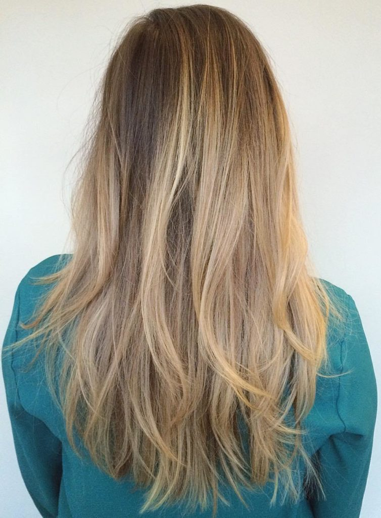 Messy Cut with Chopped Long Layers