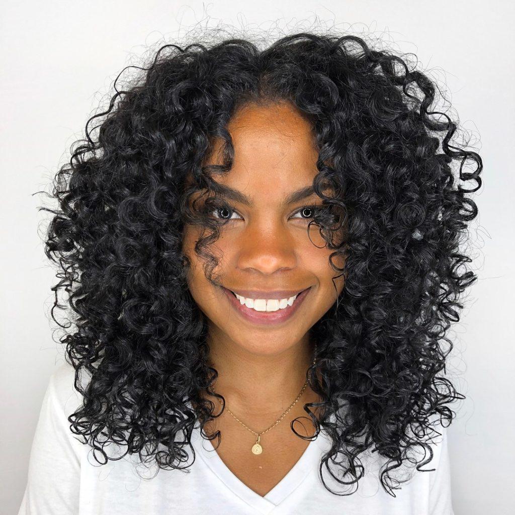 Mid Length Curls