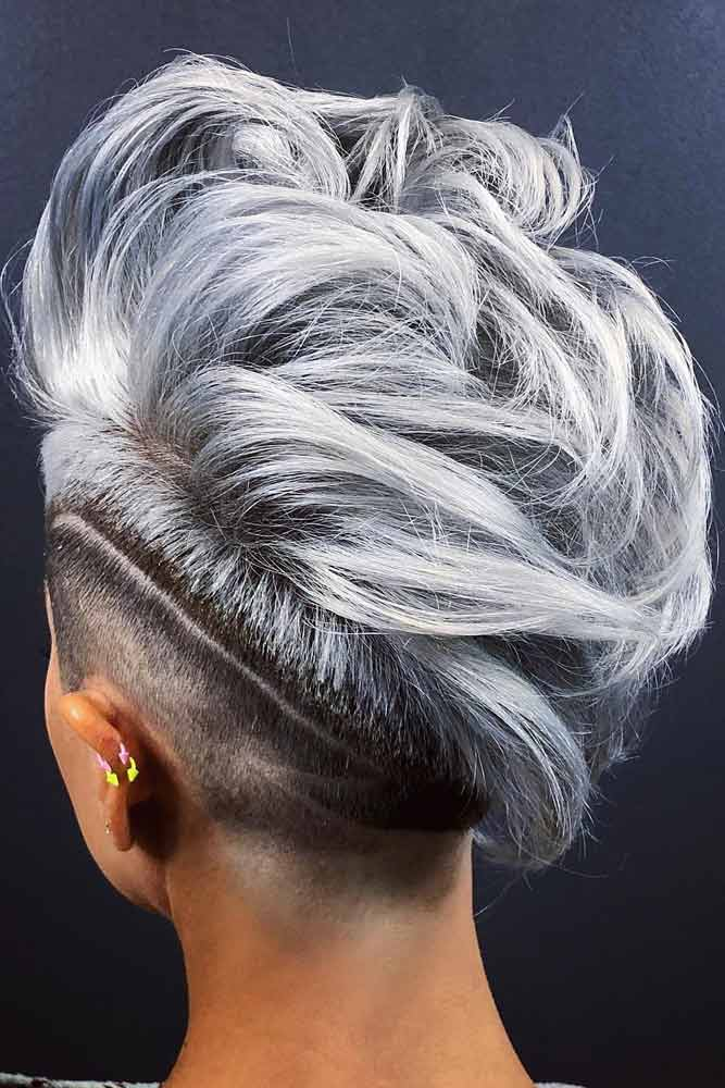 Mohawk With Shaved Stripe
