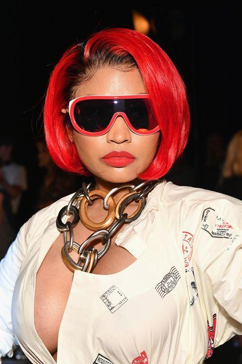 Nicki Minajs Candy Apple Red Hair