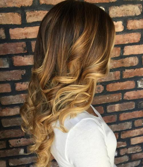 Ombre to Balayage Transformation