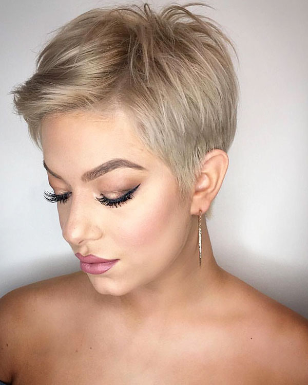 Pixie Crop Hair