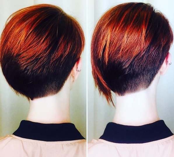 Pixie Hairstyle For Red Haired
