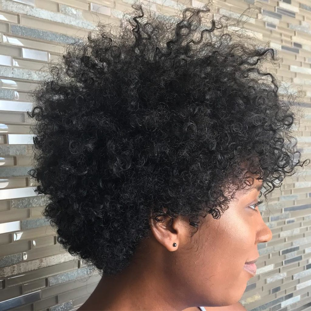Puffy Tapered Cut