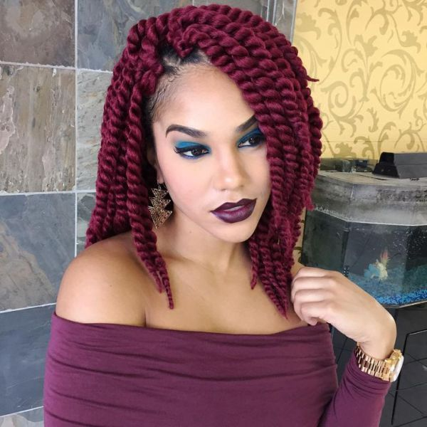 Red Twist Outs