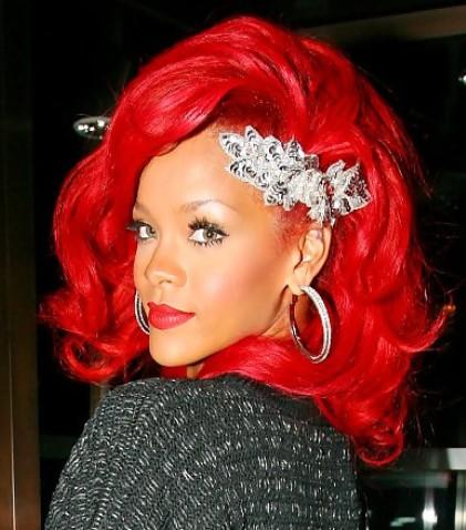 Rihannas Little Mermaid Red Hair