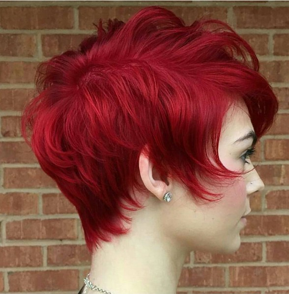 Short Red Curly Hair