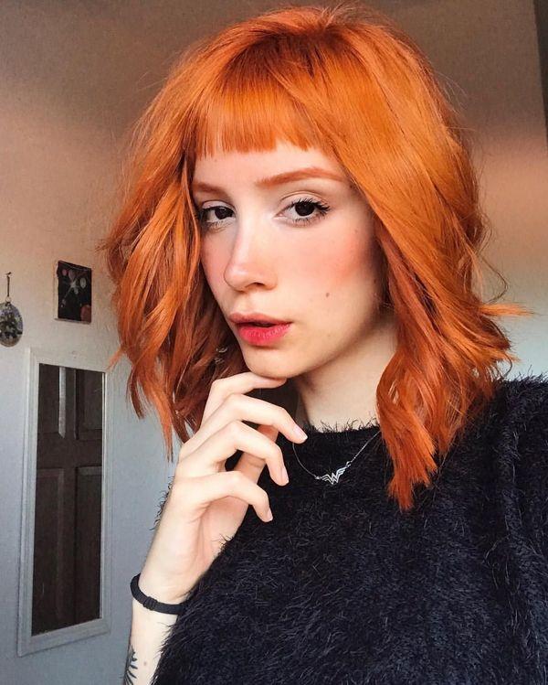 Short haircuts For Red Hair éd girls
