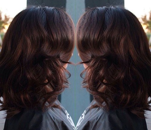 Shoulder Length Hairstyles with Curly Hair