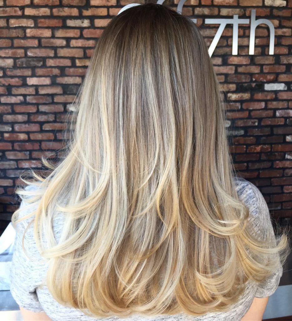Simple Layered Haircut for Long Hair.