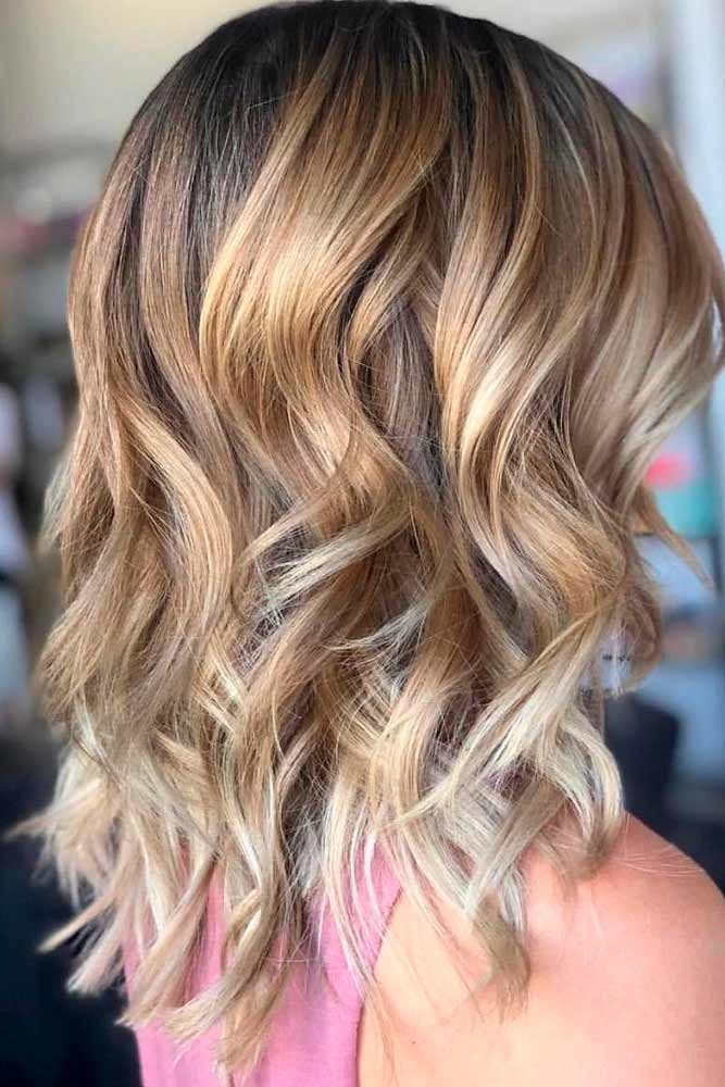 Soft Brown Style with Highlights