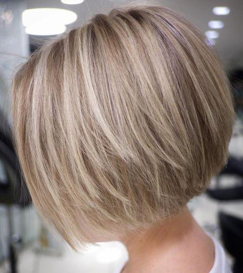 Straight Textured Creamy Blonde Bob 1