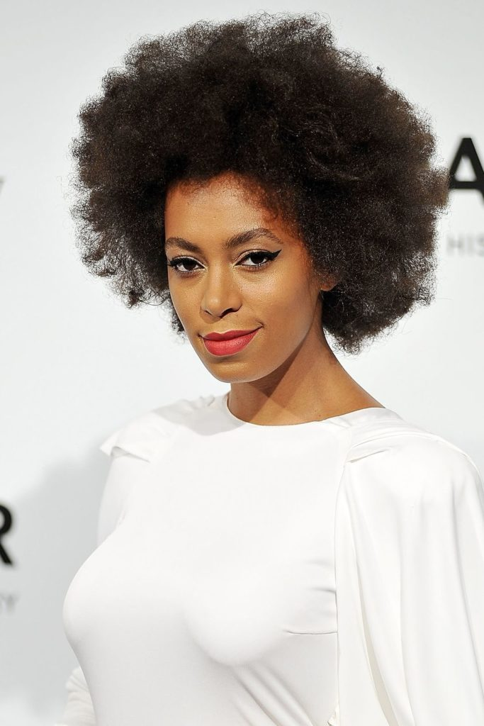 Stretched Afro