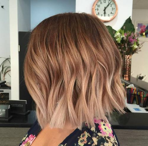 Subtle Fade for Brown Hair