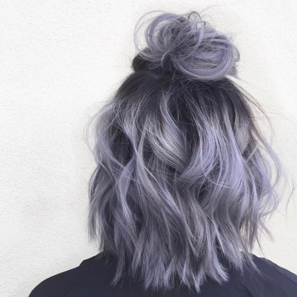 These Gray Hair Color Waves