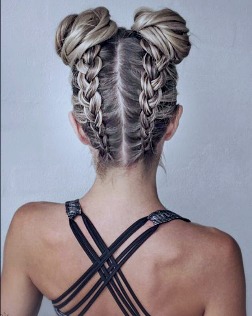 These Gray Space Buns