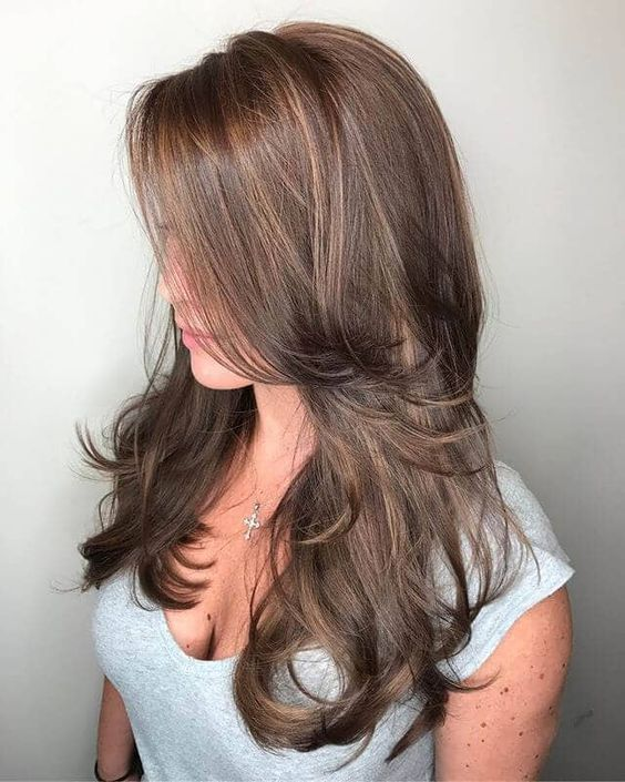 Top Long Layered Hair With Bangs For Women 2020