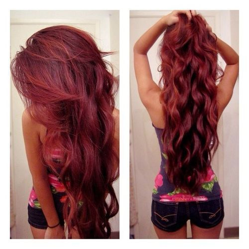 Voluminous Curls