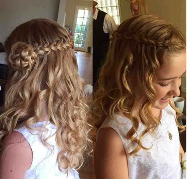 Wavy Haircut For Girls