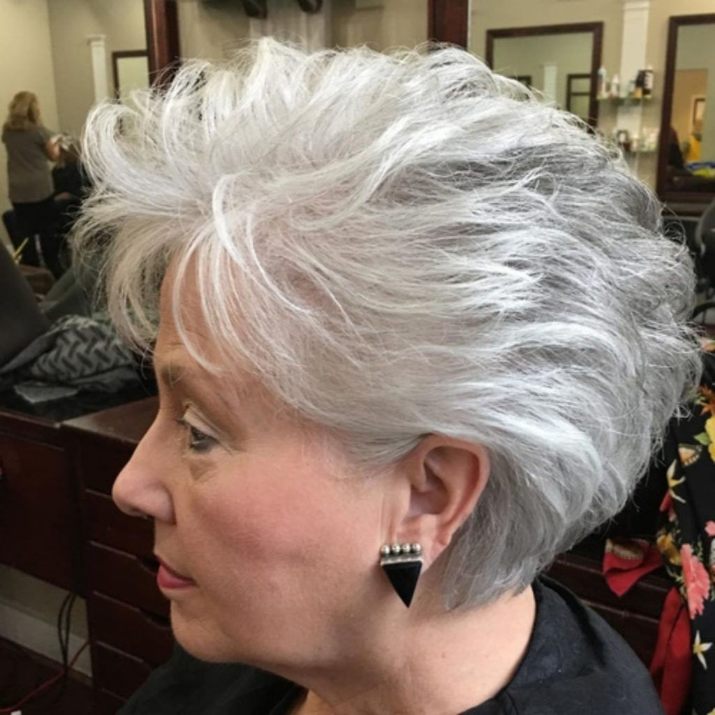 White and Gray Ombre