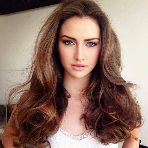 dark caramel hair color