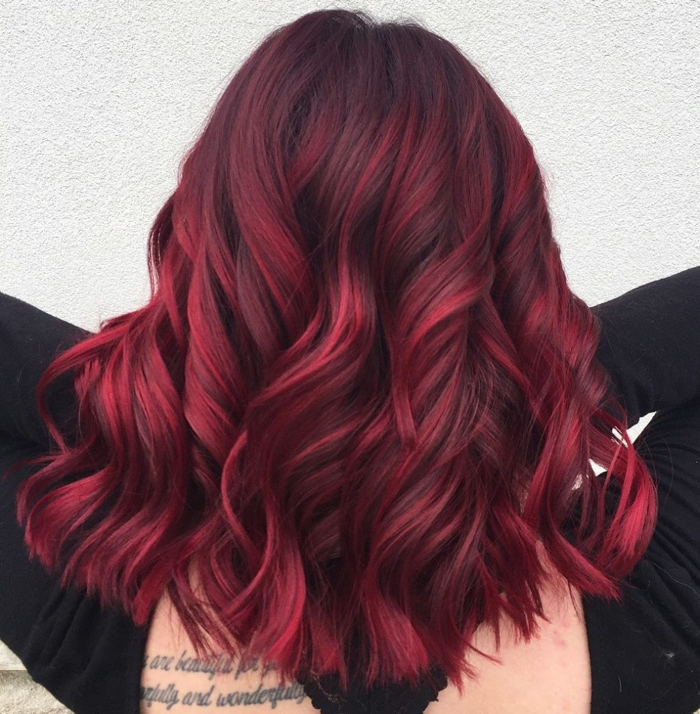 hair Red Medium