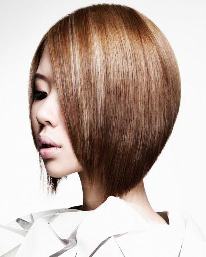 medium hair caramel brown