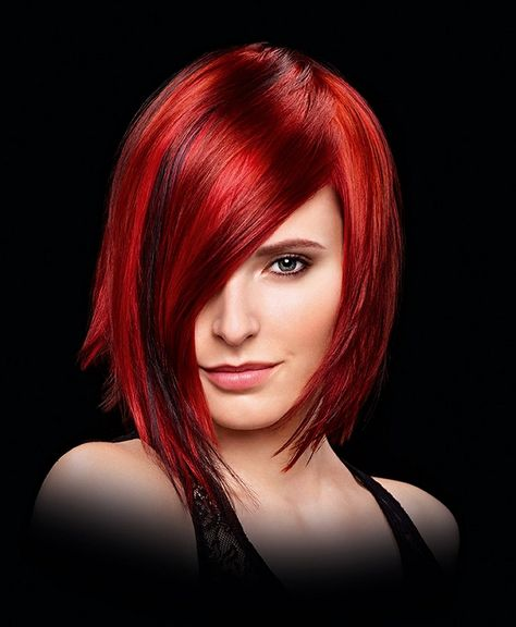 red hairstyles 1