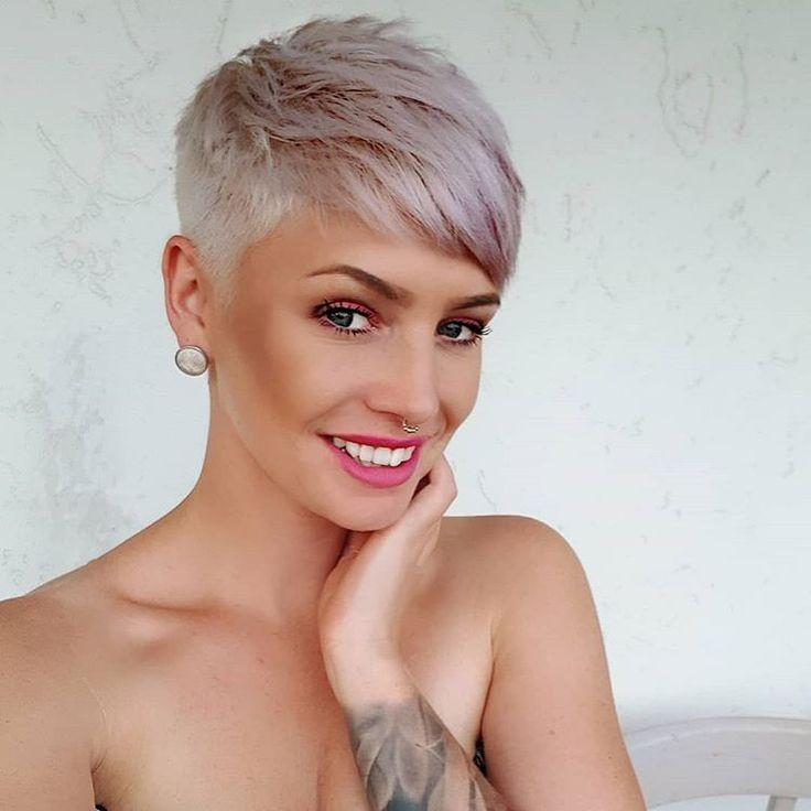 short hair colors Grey