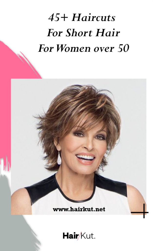 Haircuts For Short Hair for Women over 50 Pinterest